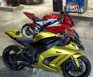 motorcycle, motorrad, and sportbike image