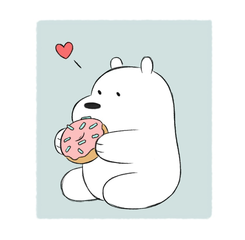 42 Images About We Bare Bears On We Heart It See More About We Bare Bears Ice Bear And Cartoon