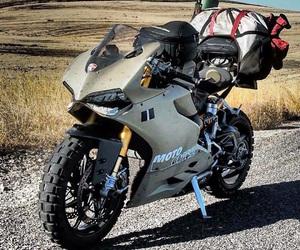 cross, motorcycle, and motorrad image