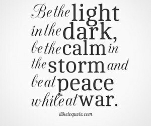 peace, quotes, and dark image