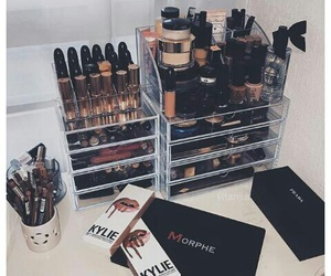 makeup, cosmetics, and lipstick image