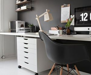 home, interior, and office image
