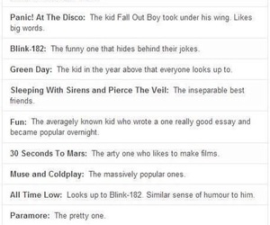30 seconds to mars, all time low, and blink 182 image