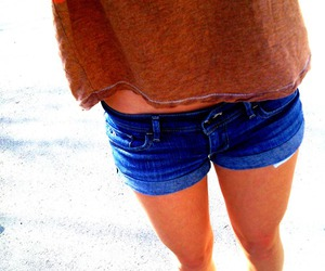 pretty, shorts, and summer image