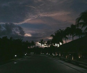 sky, night, and dark image