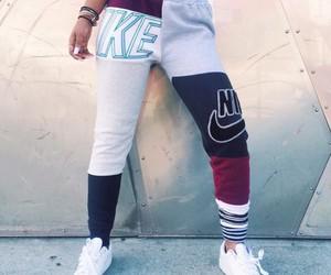 nike, fashion, and joggers image