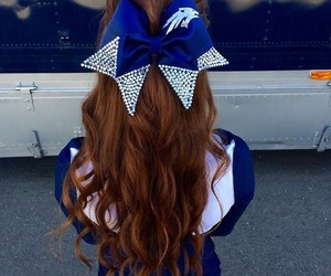 cheerleader and cheerleading image