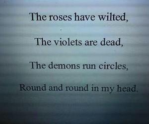 depression, poem, and tumblr image