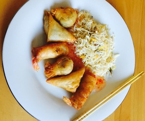 delicious, rice, and dumplings image