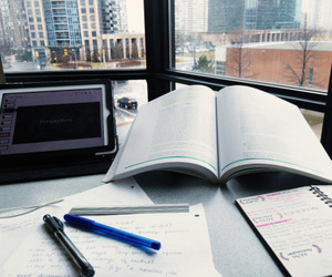college, studying, and studyblr image