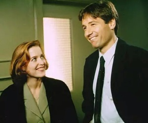 x files, dana scully, and david duchovny image