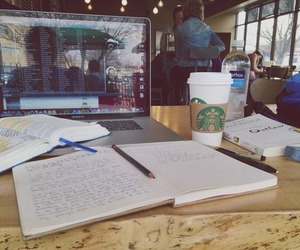 school, study, and studying image