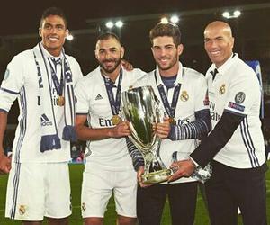 football, real madrid, and zidane image