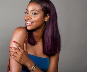 black women, brownskin girls, and purple hair image