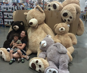bear, huge, and toys image