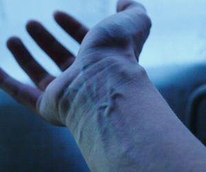 veins, hand, and grunge image