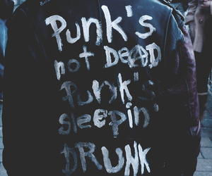 punk, drunk, and grunge image