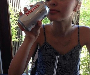 coca-cola and lily rose depp image