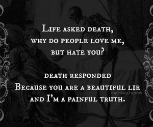 life, death, and quote image