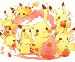 adorable, pikachu, and kawaii image