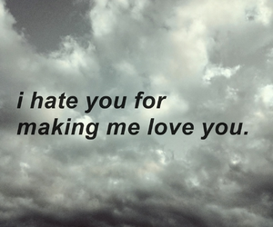 frases, hate you, and quotes image
