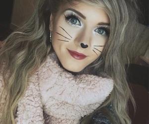 cat, Halloween, and kawaii image