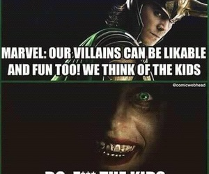 joker, Marvel, and loki image