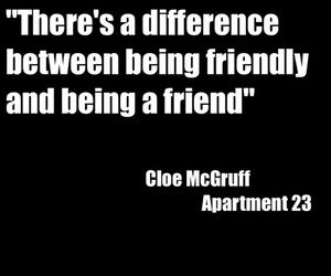 friend, apartment 23, and chloe image