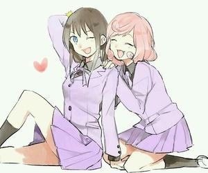 noragami, anime, and anime girl image