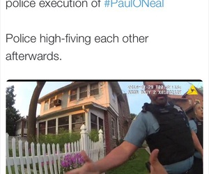 death, police, and police brutality image
