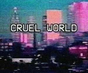 world, city, and grunge image