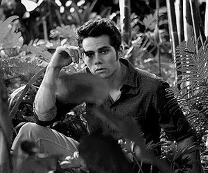 bianco e nero, dylan o'brien, and black and white image