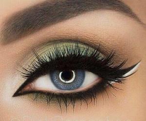 eye, inspiration, and make up image