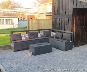 pallet furniture, pallet furniture plans, and pallet patio furniture image