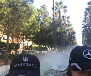 agnes, fountain, and hats image