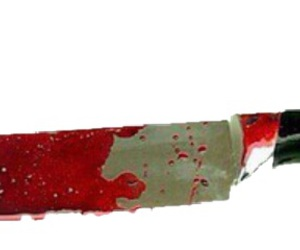 blood, knife, and overlay image