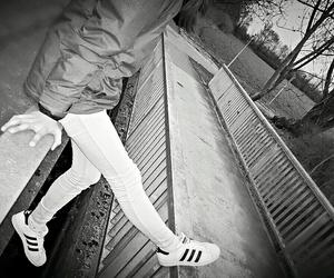adidas, dark, and selfmade image