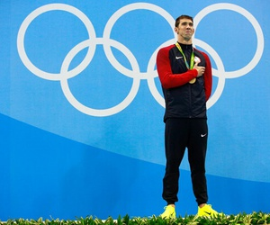 Michael Phelps, swimming, and usa image
