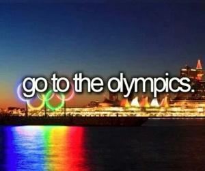 olympics and bucket list image
