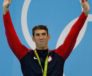 Michael Phelps, olympics, and rio image