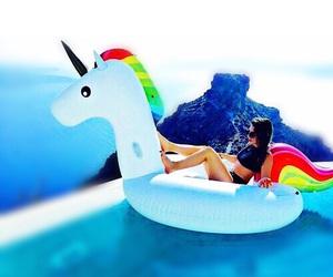 unicorn, summer, and tumblr image