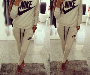 fashion, nike, and style image