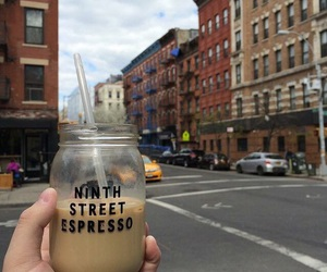 coffee, street, and travel image