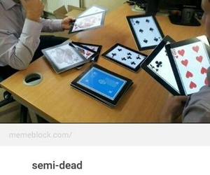 funny, rich, and cards image