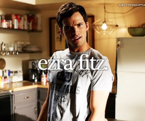 pll, ezra fitz, and pretty little liars image