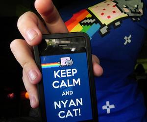 nyan cat and shirt image