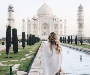 travel, india, and adventure image