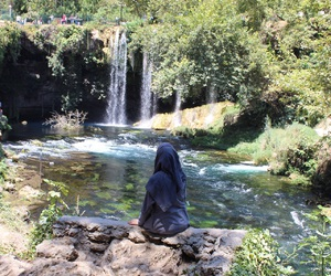 beauty, earth, and hijab image