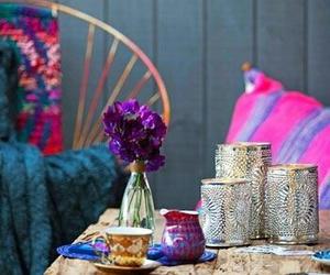 bohemian, home decor, and boho image