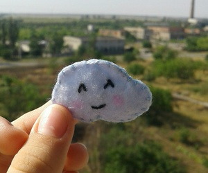 cloud, funny, and smile image